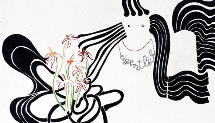 Zandra Harms, Zeichnungen eigentlich